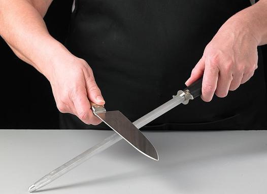 affuter un couteau