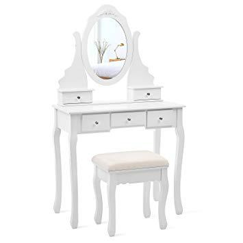 amazon coiffeuse avec miroir