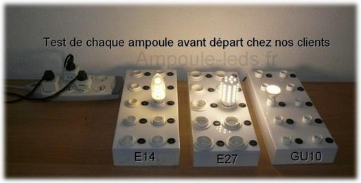 ampoule led test