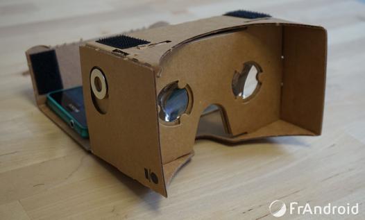 application pour casque de réalité virtuelle