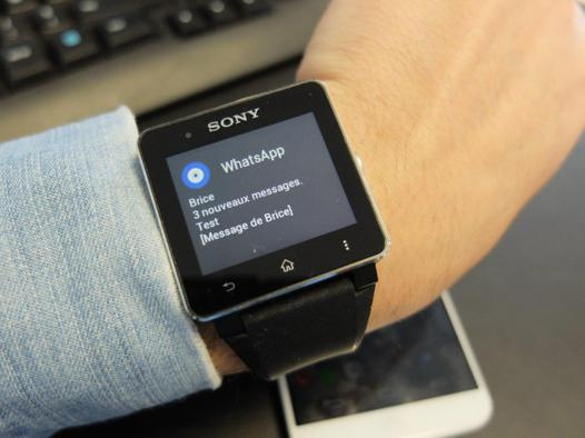application pour smartwatch 2