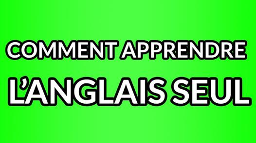 apprendre anglais seul