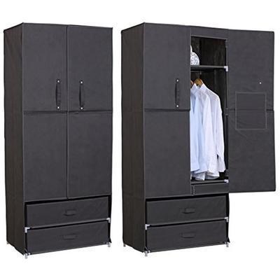 armoire penderie en tissu
