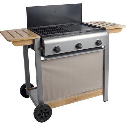 barbecue plancha à gaz