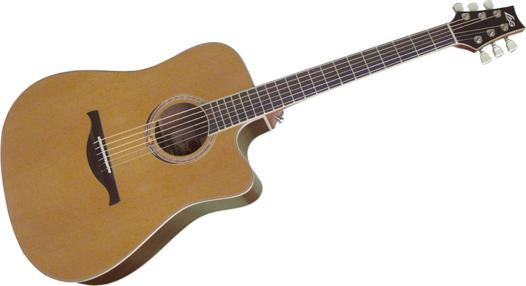 bonne guitare acoustique pas cher