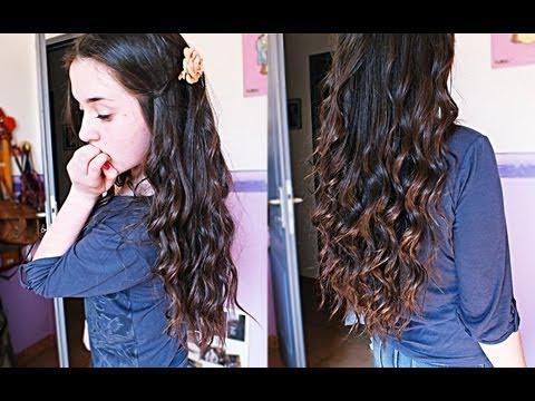 boucler ses cheveux avec un fer a boucler