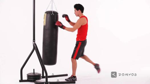 boxe sac de frappe exercices