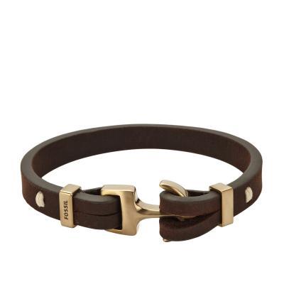 bracelet fossil ancre