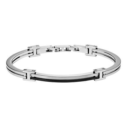 bracelet fossil femme acier