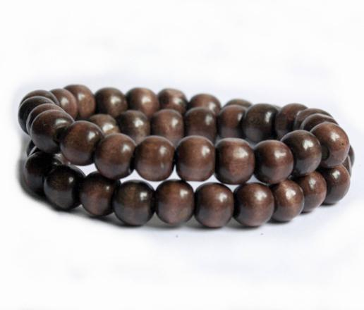 bracelet perle en bois homme