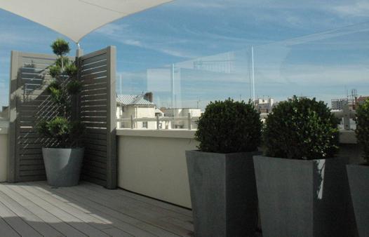 brise vent pour balcon