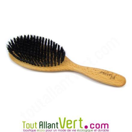 brosse à cheveux poil de sanglier pas cher