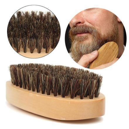 brosse poil de sanglier barbe