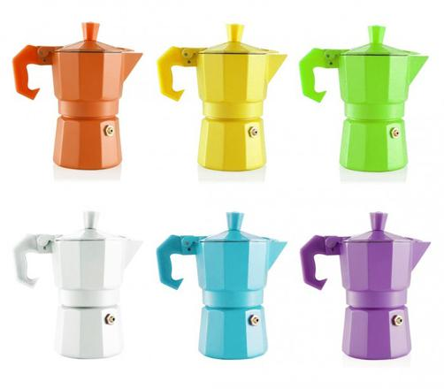 cafetiere italienne couleur