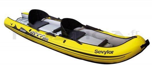 canoe de mer gonflable