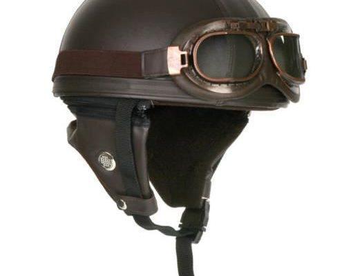 casque moto retro homologué