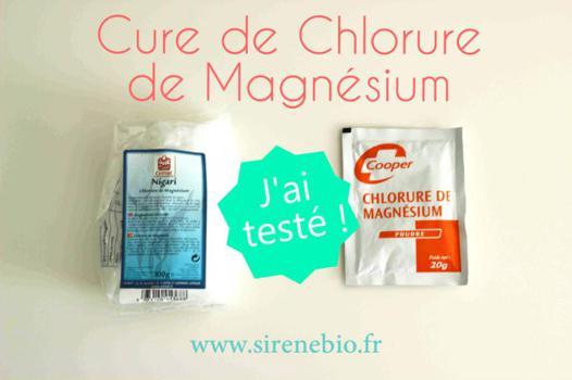 chlorure de magnésium cure