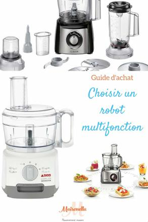 choisir robot multifonction