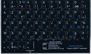clavier cyrillique russe