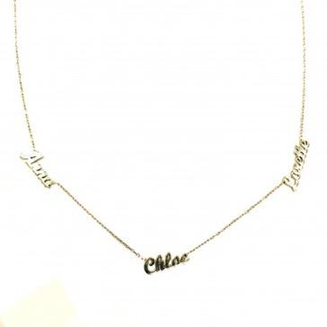 collier 3 prenom