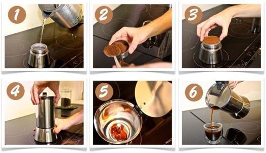 comment utiliser une cafetière italienne