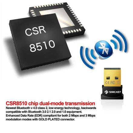 csr bluetooth chip ne fonctionne pas