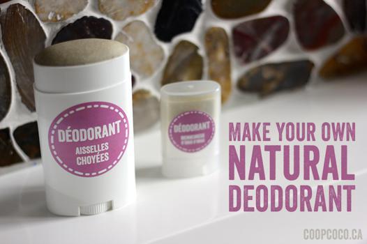 deodorant naturelle