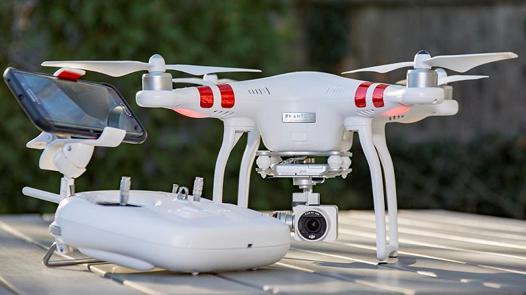 drone dji phantom 3 standard test