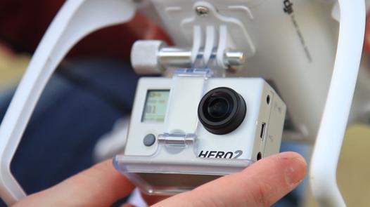 drone pour camera gopro