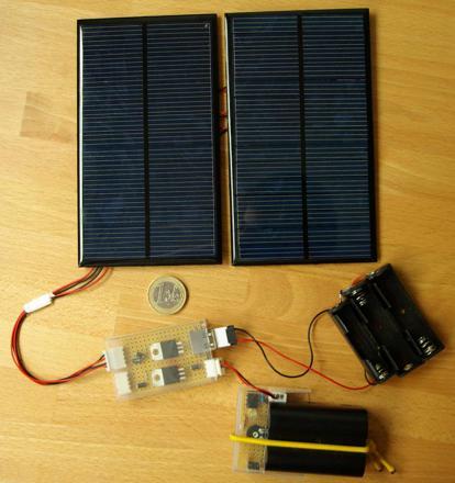 fabriquer un chargeur solaire
