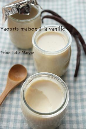 faire yaourt maison