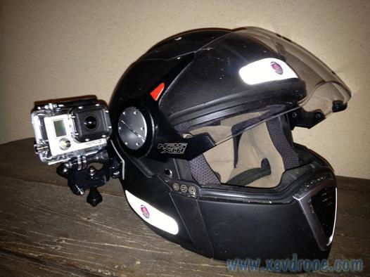 gopro casque moto