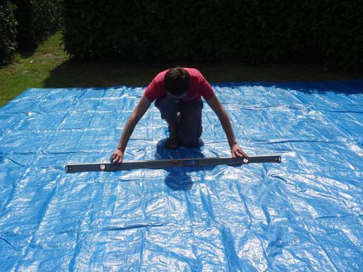 installation piscine intex