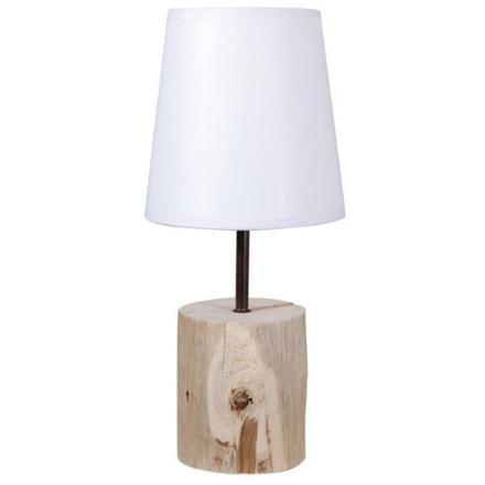 lampe chevet bois