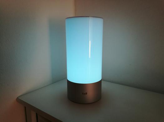 lampe de chevet connectée