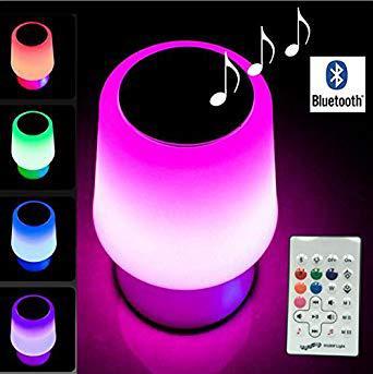 lampe musique bluetooth