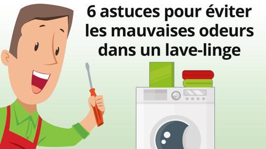 lave linge mauvaise odeur