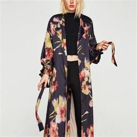 long kimono femme