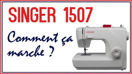 machine a coudre singer 1507