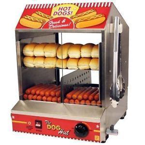 machine hot dog