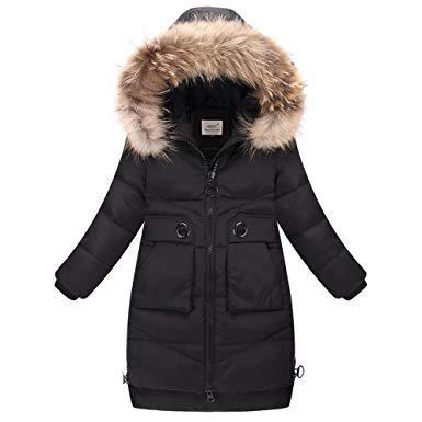 manteau chaud fille 10 ans