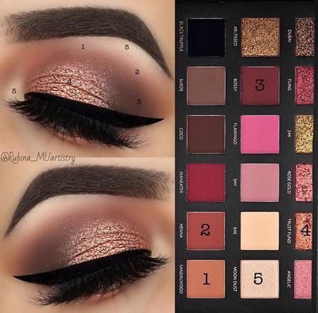 maquillage huda beauty