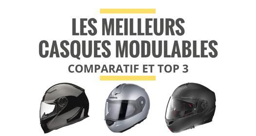meilleur casque moto modulable