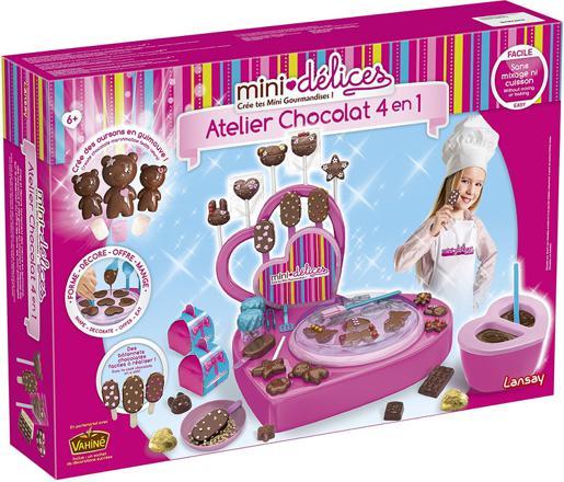 mini delice atelier chocolat 4 en 1