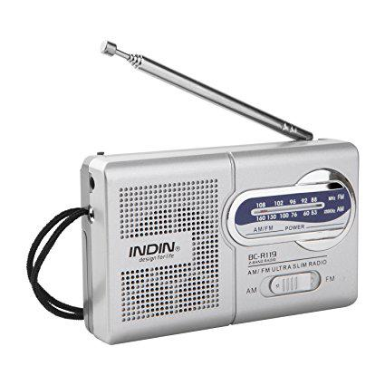mini radio portable