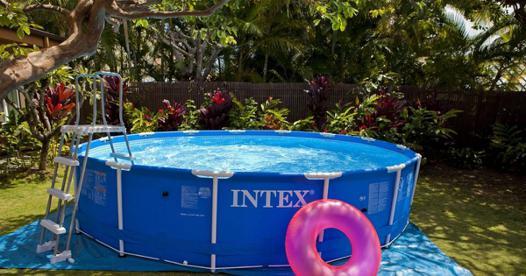 montage piscine hors sol intex tubulaire