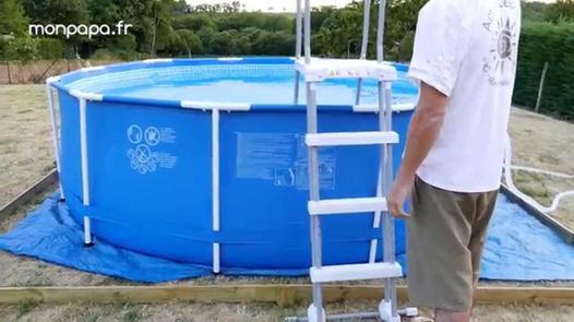 montage piscine intex tubulaire