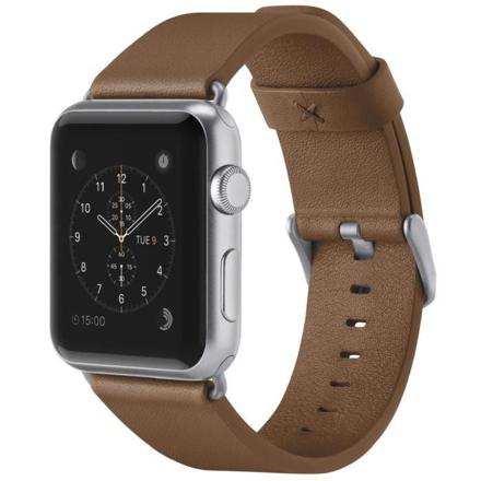 montre connectée bracelet cuir