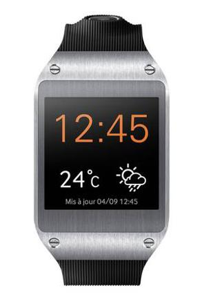 montre connectée samsung galaxy gear noir