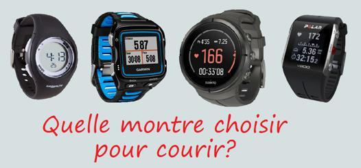 montres pour courir